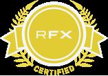 RFX Bescheinigt Stempel